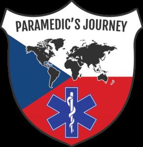 Logo cesty Záchranář na cestách / Paramedic's journey.