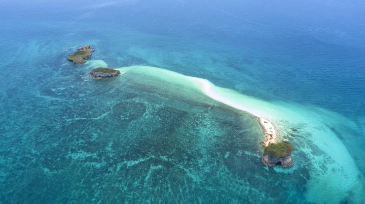 Jedny z mnoha ostrovu Filipin