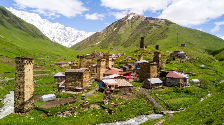 ushguli na vesnici z blizka (1 z 1)